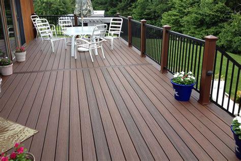 Best Material For Patio Umbrella Deck Inspiring Design Trex Deck Trex Deck Home Depot