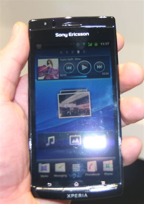 Hp Android Sony Ericsson Xperia Arc sony ericsson xperia arc android gingerbread on