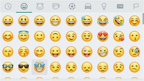 emoji untuk whatsapp whatsapp mengaktifkan rekaan emoji baru untuk semua