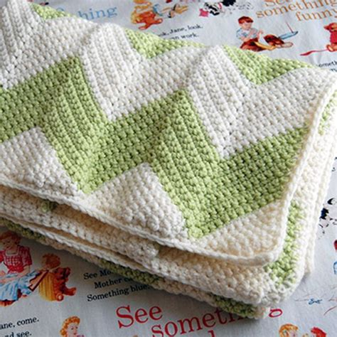 cute pattern blanket love this chevron baby blanket from eat knit d i y