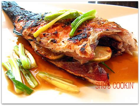 new year whole fish recipe easy grilled snapper recipe for new year she