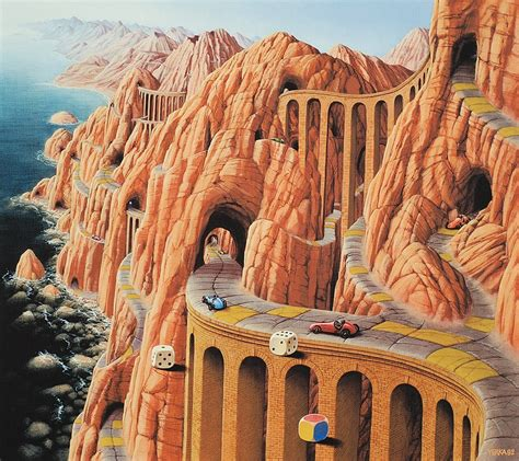 imagenes de surrealismo famosas jacek yerka pintura surrealista taringa