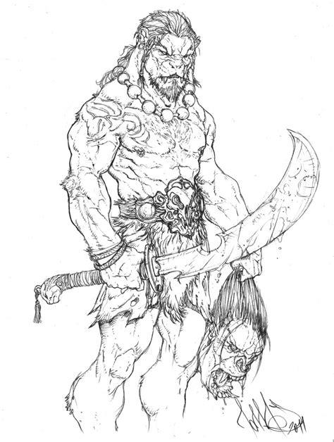 lion warrior by tdm studios on deviantart