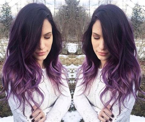 hairstyles to hide dyed tips lavender lilac hair black hairstyles pinterest my