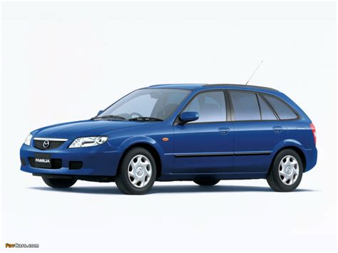 2000 mazda familia 1500 rs related infomation