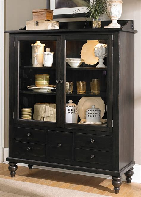 dining room display cabinet liberty furniture whitney display cabinet in black cherry