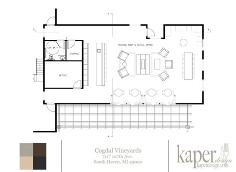 winery floor plans kaper design restaurant hospitality design inspiration completed projects