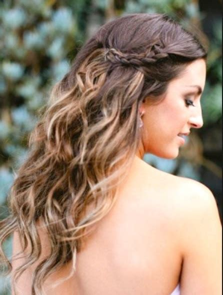 beachy waves wedding hairstyles easy safe way to make waved hair trusper