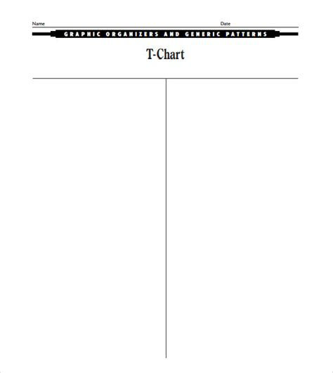 t chart template for word sle t chart 7 documents in pdf word
