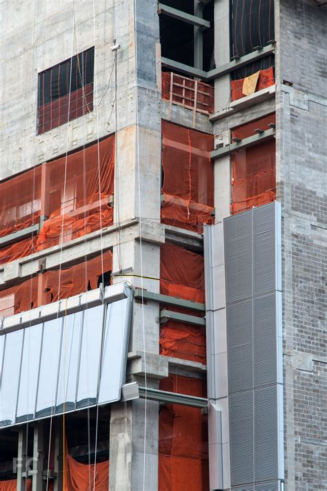 curtain wall installation 10 hudson yards field condition