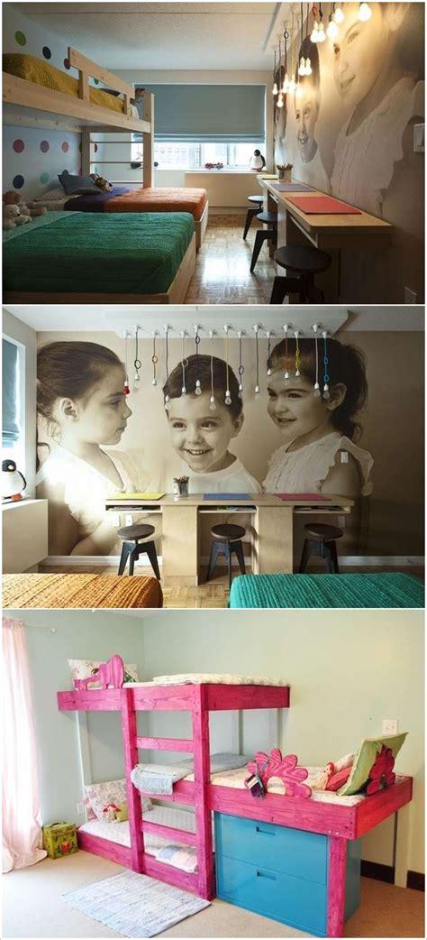 fabulous bedroom ideas  triplets  triple fun
