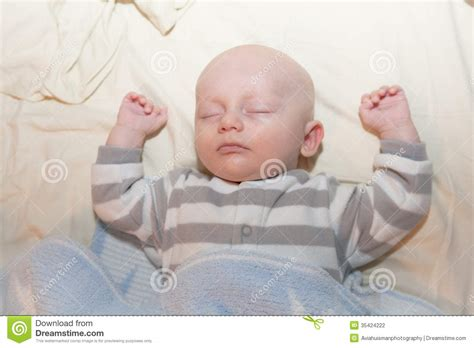 how to sleep comfortably on your back baby napping stock photography image 35424222