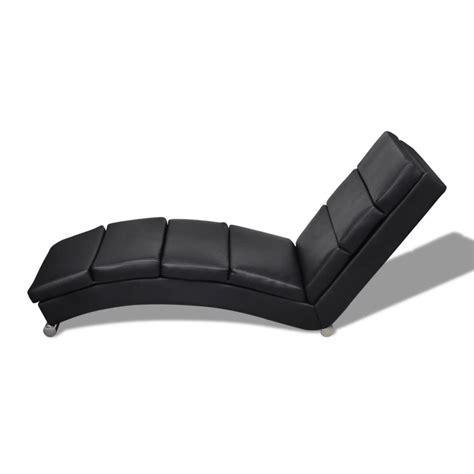 poltrona chaise longue articoli per chaise longue poltrona nera vidaxl it