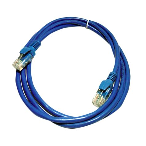 Kabel Lan 5 M Terpasag Konektor Rj45 Cable Utp 5m 1 jual hx cat5e konektor rj45 stright kabel lan 1 5 m harga kualitas terjamin
