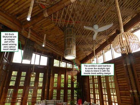 Zero Carbon Luxury Resort by Zero Carbon Resorts Using Skytunnel Tubular Skylights