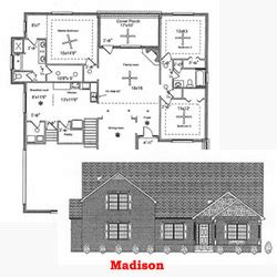 single story house plans with 2 master suites house plans goddard construction company llc