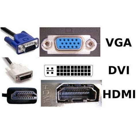 what is better hdmi or vga the differences between vga dvi and hdmi the differences