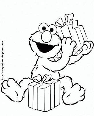 happy birthday elmo coloring page elmo s song