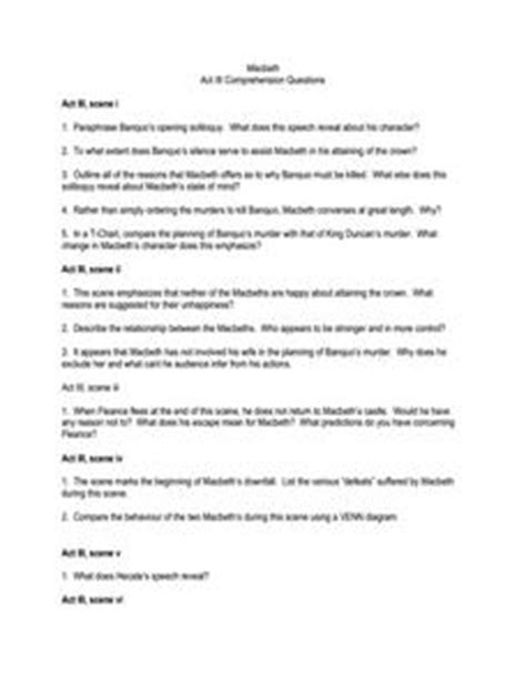 macbeth themes quiz worksheets macbeth worksheets opossumsoft worksheets and