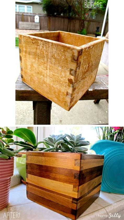 Ikea Planter Box by Ikea Wooden Planter Box Gets Simple Mod Makeover Homejelly