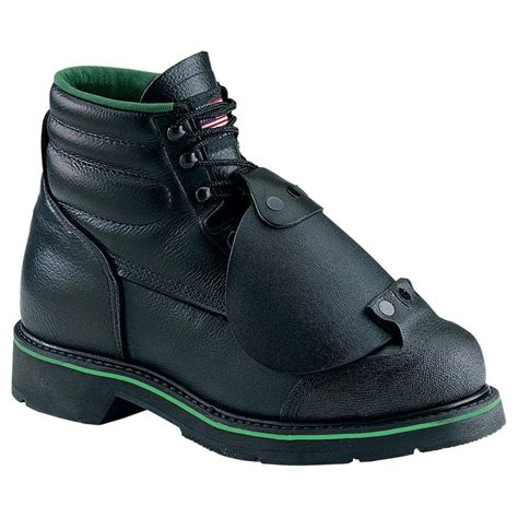 Boot One s work one 174 6 quot external metatarsal guard boot e068 158609 work boots at sportsman s guide