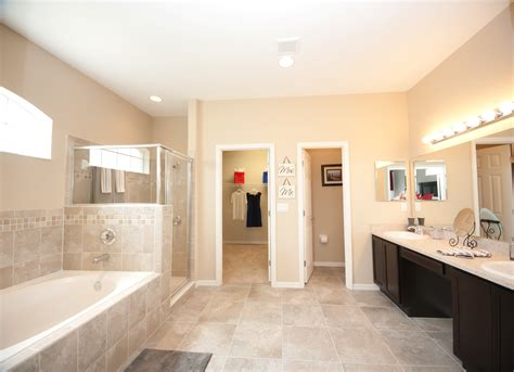 model home bathrooms great lighting open space and warm neutral colors make