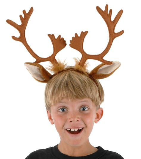 rudolf reindeer antlers sven headband hat christmas