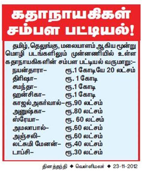 south indian salary list 2012 tamil jokes