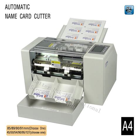 What Is The Best Paper Cutter For Card - aliexpress buy a4 automatic business card slitter
