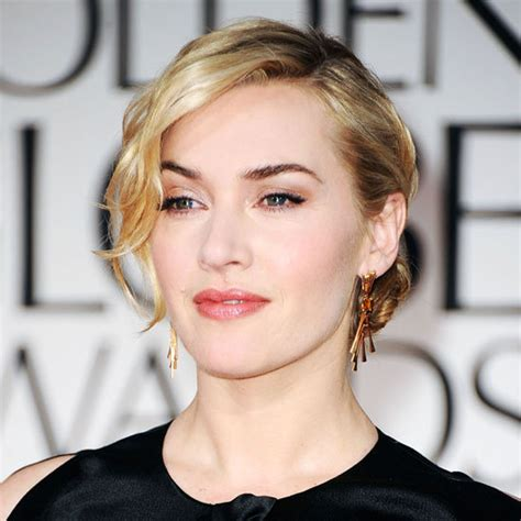sophisticated makeup for 35 years old kate winslet s soft sophisticated makeup the golden