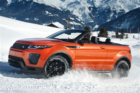 land rover discovery convertible 2016 range rover evoque convertible review drive