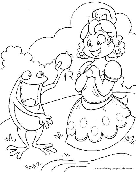 fairy tales free colouring pages