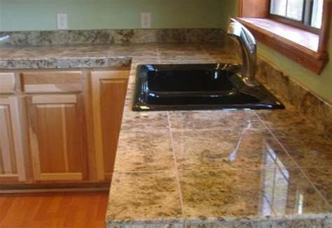 Tile Kitchen Countertops Ideas by Marble Tile Ideas For Countertops Ayanahouse