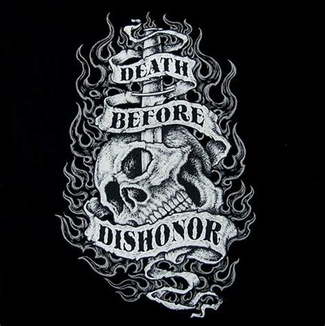 death before dishonor skull sweatshirt ws502