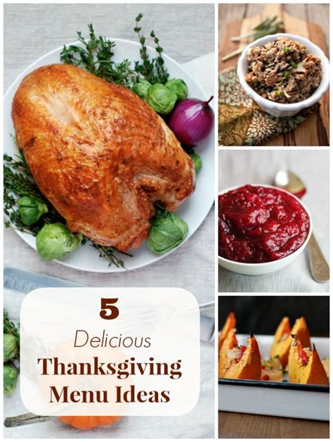 5 thanksgiving menu ideas for every palate
