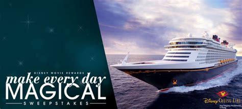 the disney cruise line blog an unofficial disney cruise line news information - Make Everyday Magical Sweepstakes