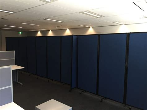 conference room dividers easily set up an office meeting area within a room using