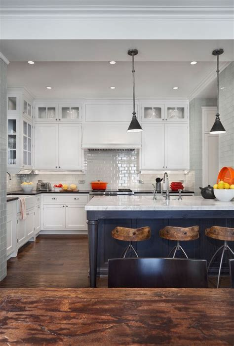 white kitchens with islands 15 gorgeous white kitchens with coloured islands the