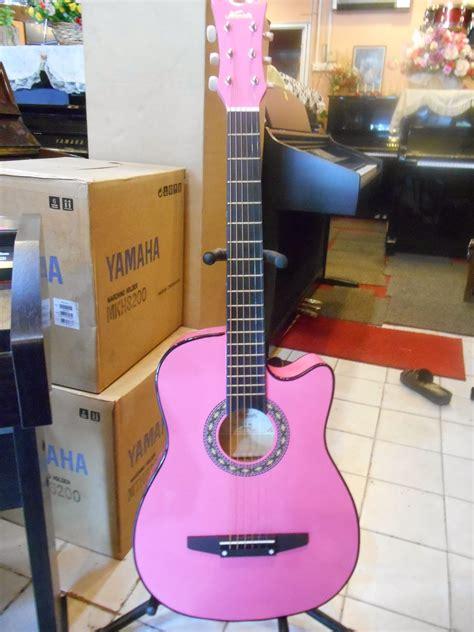 Harga Gitar Yamaha Pink zamrees alatan muzik baru dan terpakai