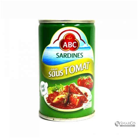 abc sardines 155gr detil produk abc sardine tomat sauce 155 gr 1014140010023