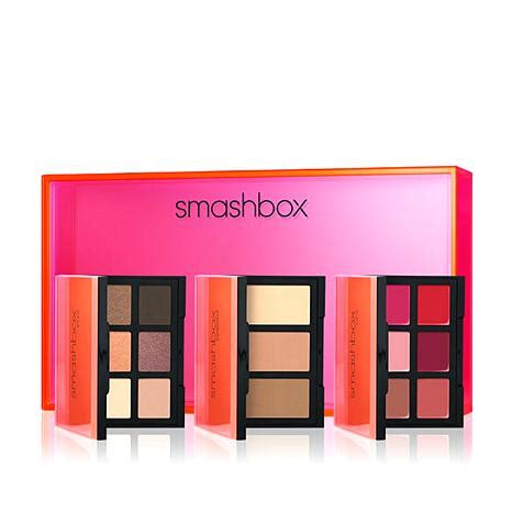 smashbox light it up smashbox light it up 3 palette set eyes contour and