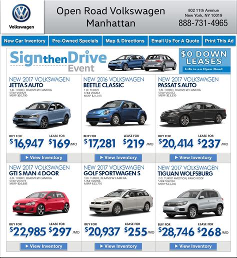 Open Road Volkswagen Of Manhattan by Open Road Volkswagen Manhattan 2017 2018 2019