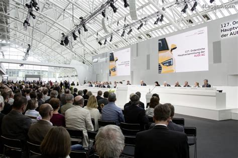 Audi Hauptversammlung by Assembl 233 E G 233 N 233 Rale Audi 2016 4legend Audipassion