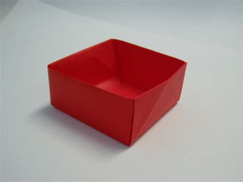 how to make a small origami box classic origami box