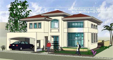 front view house plans bacolod house design greensville 2 residence archian
