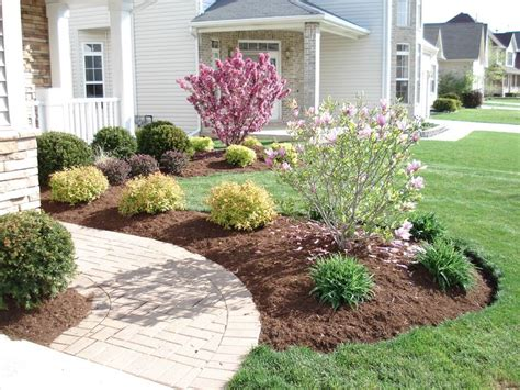 simple front yard landscaping ideas landscape front yard