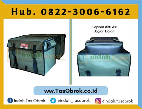 Tas Motor Padang jual saddle bag klaten jual tas delivery makanan klaten