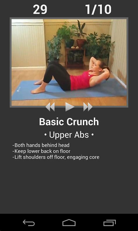 daily ab workout abs fitness exercises android apps on play