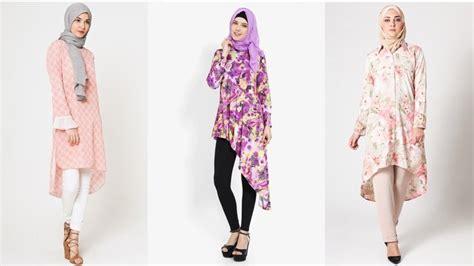 Baju Atasan Wanita Tere Peplum Blouse Tunik Baju Muslim Blus Muslim 5 model blouse yang cocok untuk pesta riraclothing
