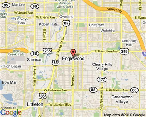 map of englewood colorado englewood colorado